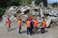 AFET BİLİNCİ - Kahramanmaraş'ta Öğretmenlerden Doğal Afet Tatbikatı