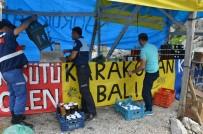 Karayolu Kenarında Sahte Bal Satışına Şok Baskın