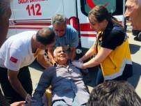 Kilis'te Trafik Kazası Açıklaması 1 Yaralı