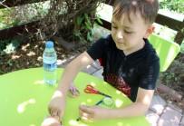 Minikler 'Tohumlu Çiçek Kalemler' İle Çevre Bilincine Dikkat Çekti