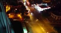 ARAÇ KONVOYU - (Özel) Asker Uğurlama Konvoyunda Yolu Kapatıp Drift Yaptı