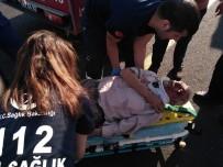 Siverek'te Trafik Kaza Açıklaması 1 Yaralı