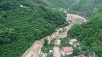Trabzon'un Araklı İlçesinde HES Borusu Patladı Açıklaması 1 Ölü, 3 Kayıp