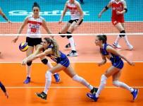 EBRAR - 2019 FIVB Voleybol Milletler Ligi Açıklaması İtalya Açıklaması 3 - Türkiye Açıklaması 2