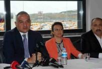 TARİHİ YARIMADA - Bakan Ersoy, İstanbul Havalimanı Taksicileri İle Bir Araya Geldi