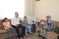 Başkan Saygılı'dan 'Çat Kapı' Ev Ziyaretleri