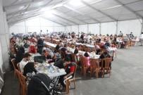 İFTAR ÇADIRI - Elazığ'da 75 Bin Kişi İftar Çadırında Buluştu