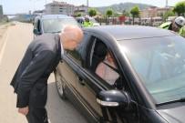 GİRESUN VALİSİ - İçişleri Bakan Yardımcısı Erdil, Giresun'da Trafik Uygulamasına Katıldı