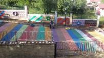 Öğrenciler Ders Kapsamında 'Sanat Sokağı' Oluşturdu