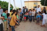NENE HATUN - Parktaki Çocuk Oyun Grubu Yenilendi