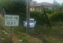 EBRAR - Samsun'da Trafik Kazası Açıklaması 2 Yaralı