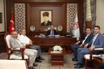 Şentürk, Vali Ali Hamza Pehlivan'ı Ziyaret Etti
