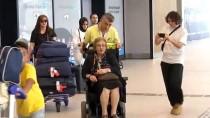 İSPANYA - 69 Yıllık Vatan Özlemini Gideren Raşel Kazes, Arjantin'e Döndü