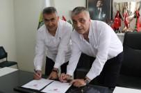 Akhisarspor, Teknik Direktör Mehmet Altıparmak İle Sözleşme İmzaladı