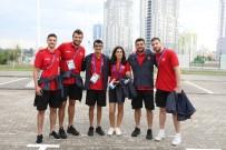 MASA TENİSİ - Avrupa Oyunların'da Takım Bayrak Töreni Düzenlendi