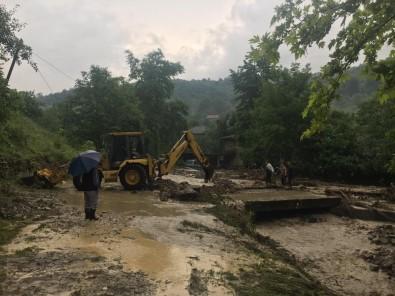Bartın'da Sel Felaketi Açıklaması 2 Kişi Kayıp