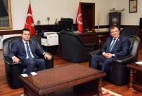 Başkan Çatal, Rektör Topal'a Hayırlı Olsun Ziyaretinde Bulundu