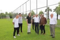 HÜSEYİN ÜZÜLMEZ - Başkan Söğüt Ve Üzülmez, Kocaelispor'un Yeni Tesislerini Gezdi
