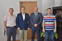 CENGIZ ERGÜN - Büyükşehir Genel Sekreteri Tozlu'dan Başkan Dutlulu'ya Ziyaret