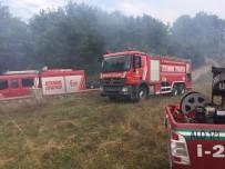 Çekmeköy'de Felçli Vatandaşın Orman İçindeki Barakası Yandı