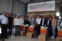 Cizre'de 25 Çiftçiye 750 Arı Ve 25 Arı Kovanı Dağıtıldı
