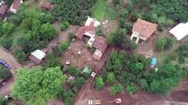 HASAR TESPİT - Düzce'deki Sel Bölgesi Havadan Görüntülendi