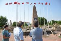 Mehmet Çavuş Anıtı'nın Çevre Düzenlemesi Devam Ediyor