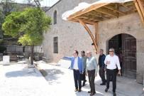 Vali Karaloğlu Devam Eden Restorasyon Ve İnşaat Çalışmalarını Denetledi