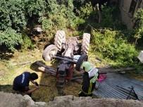 YEŞILYUVA - 4 Yaşındaki Çocuk Freni Boşalan Traktörün Altında Can Verdi