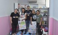 KÜTÜPHANE - Beşiktaş Taraftarı Kadınlardan Anlamlı Davranış