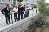 Burdur Belediye Başkanı Ercengiz, Yağıştan Zarar Gören Mahalleleri İnceledi