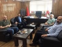 Cumhuriyet Başsavcısı Ramazan Murat Tiryaki, BGC'ye Veda Ziyaretinde Bulundu