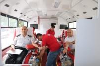 Jandarmadan Kızılaya Kan Bağışı