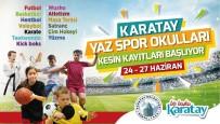 MASA TENİSİ - Karatay Yaz Spor Okullar İçin Kesin Kayıtlar Başlıyor