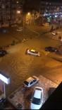 KARADENIZ SAHIL YOLU - Trabzon'da Şiddetli Yağış