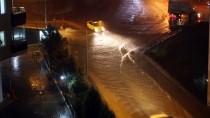 Trabzon'da Şiddetli Yağışın Etkisini Yitirmesinin Ardından Ulaşım Normale Dönüyor