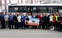Vali Masatlı, Öğrencileri Çanakkale'ye Uğurladı