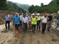 Araklı'da Hasar Tespit Çalışmaları İçin Toplandılar