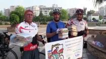 KÜTÜPHANE - Bisikletle 310 Kilometre Kitap Taşıyacaklar