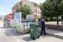 OSMAN ÖZTÜRK - Çöp Konteynerleri Dezenfekte Edildi