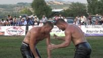 YALıNTAŞ - İkiz Güreşçiler Başpehlivanlık İçin El Bağladı