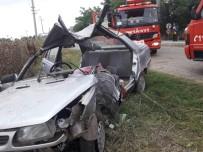 Kırklareli'de Trafik Kazası Açıklaması 2 Yaralı