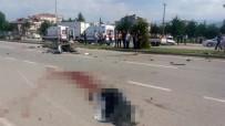 HIKMET ŞAHIN - Ortadan ikiye bölündü, 2 kişi öldü