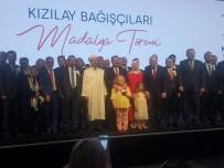 SAĞLıK BAKANı - Türk Kızılayı'ndan SANKO'ya Platin Madalya
