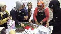 Ev Kadınları 'Butik Çikolata' Yapmayı Öğrendi