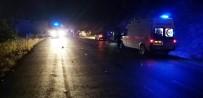 Otomobil İle Motosiklet Çarpıştı Açıklaması 1 Ölü, 1 Yaralı