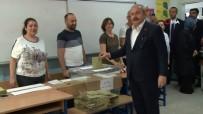 TBMM Başkanı Şentop Oyunu Üsküdar'da Kullandı