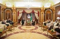 TERÖRLE MÜCADELE - ABD Dışişleri Bakanı Pompeo, Prens Selman İle Görüştü