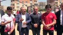 Avrupa Şampiyonu Güreşçilere Coşkulu Karşılama