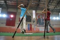 Golfçüler Halı Ve Fileyle Şampiyonaya Hazırlanıyorlar